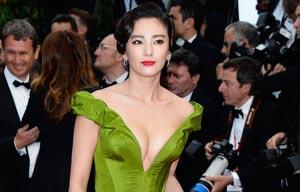 Tian Liang Ye Yiqian In Wedding Dress 1 Chinadaily Com Cn