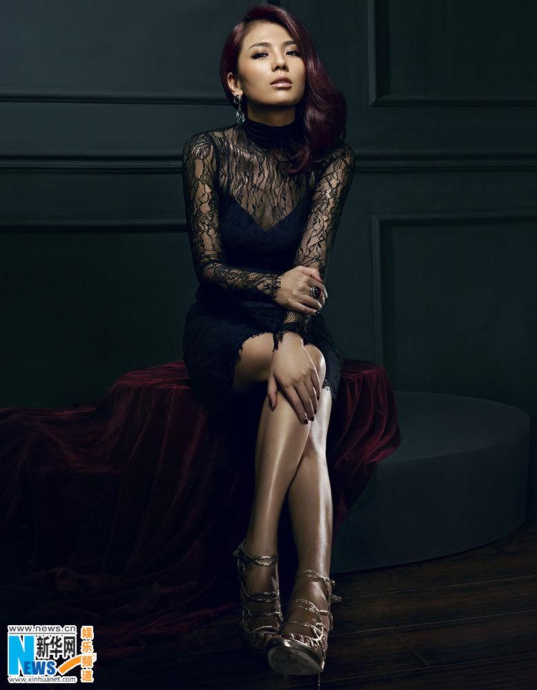Gorgeous Liu Tao Poses For COSMO Magazine2 Chinadailycn