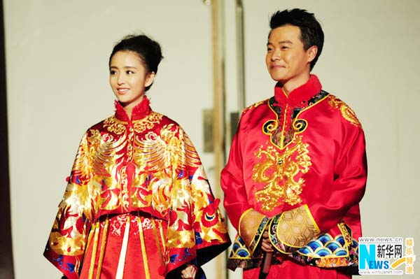 Cheng Sicheng, Tong Liya hold traditional wedding[5 ...