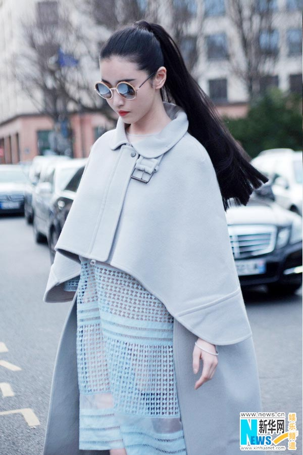 Fashion icon Zhang Xinyuan spotted during PFW[8]- Chinadaily.com.cn