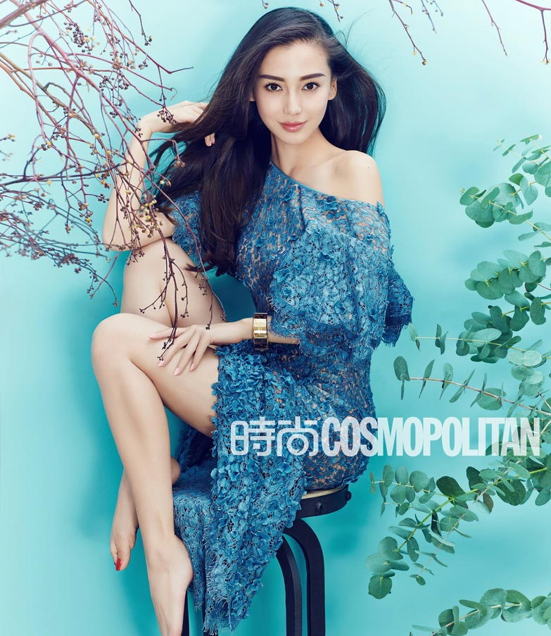 Angelababy poses for fashion magazine[8]- Chinadaily.com.cn