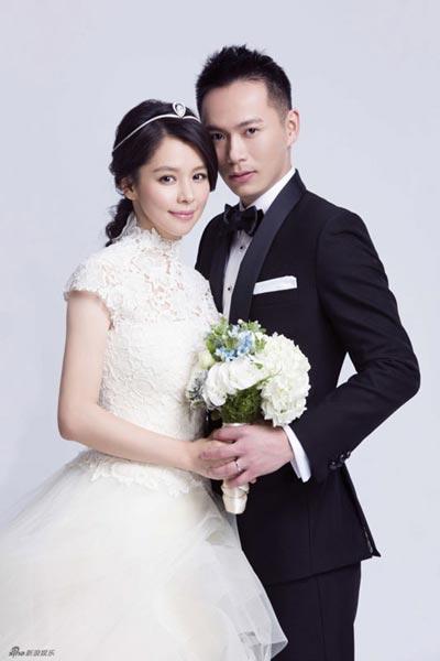 Wedding Photos Of Taiwan Actress Vivian Hsu8 Chinadailycn
