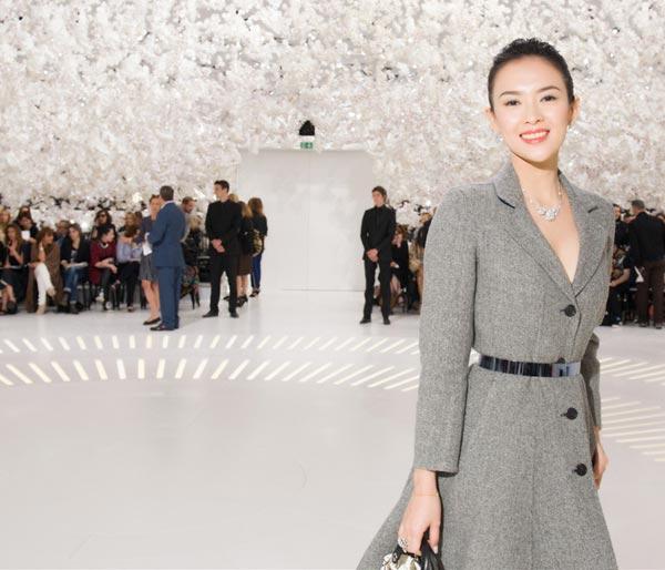 Graceful Zhang Ziyi attends Dior show[12]- Chinadaily.com.cn