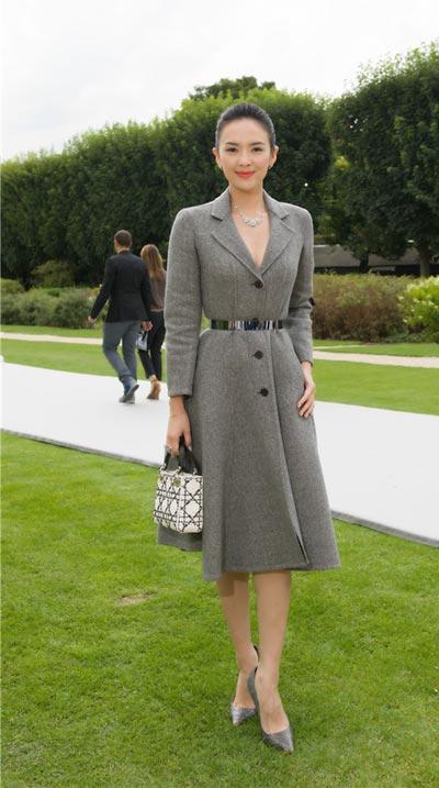 Graceful Zhang Ziyi attends Dior show[4]- Chinadaily.com.cn