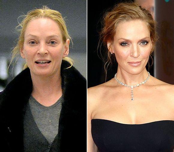 Hollywood Actresses Without Makeup Chinadailycomcn - Pictures of hollywod actress without makeup