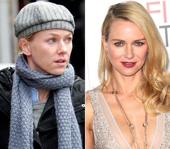 ... hollywood actresses without makeup ...