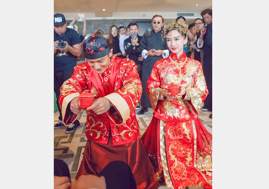 traditional chinese wedding ceremony