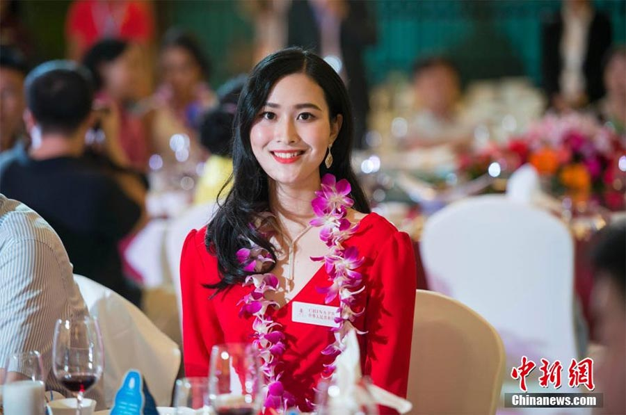 Chinau0026#39;s Yuan Lu Eyes Miss World Crown In Sanya[1]- Chinadaily.com.cn