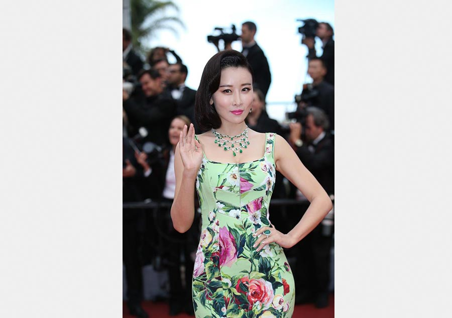 Chinese stars at opening ceremony of 69th Cannes[2