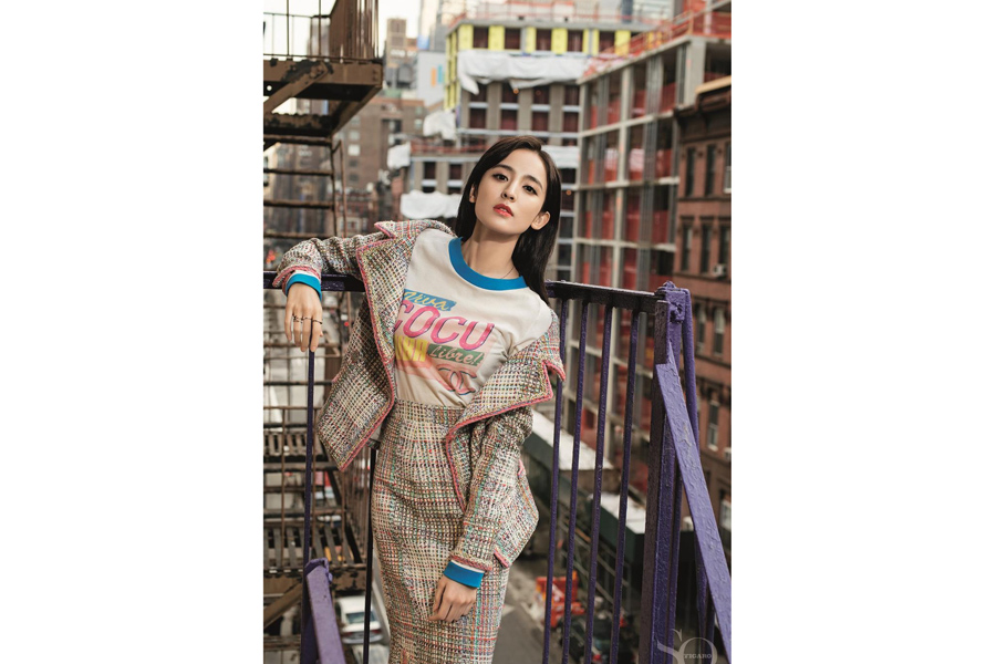 Actress Gulnazar Covers Fashion Magazine 4