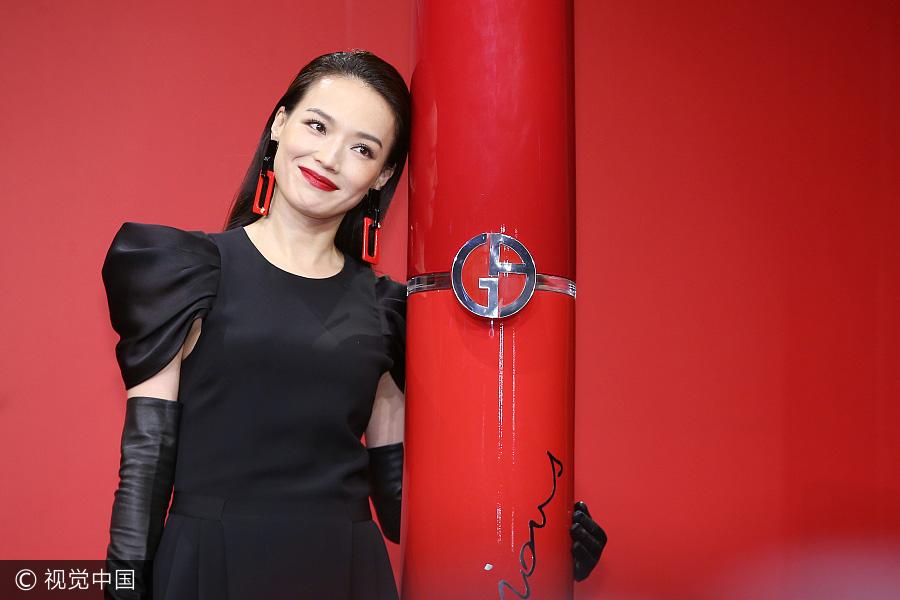 Actress Hsu Chi releases photos for Vogue magazine[3