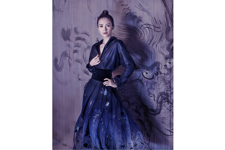 Fashion Icon Zhang Ziyi Poses For Fashion Magazine 5
