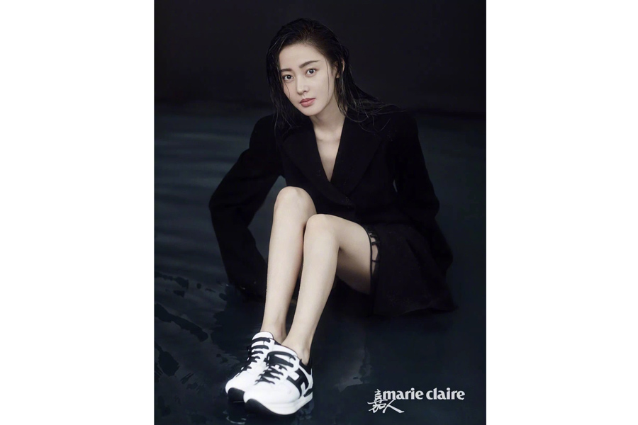 Actress Zhang Tianai Poses For Fashion Magazine China Specials Shop