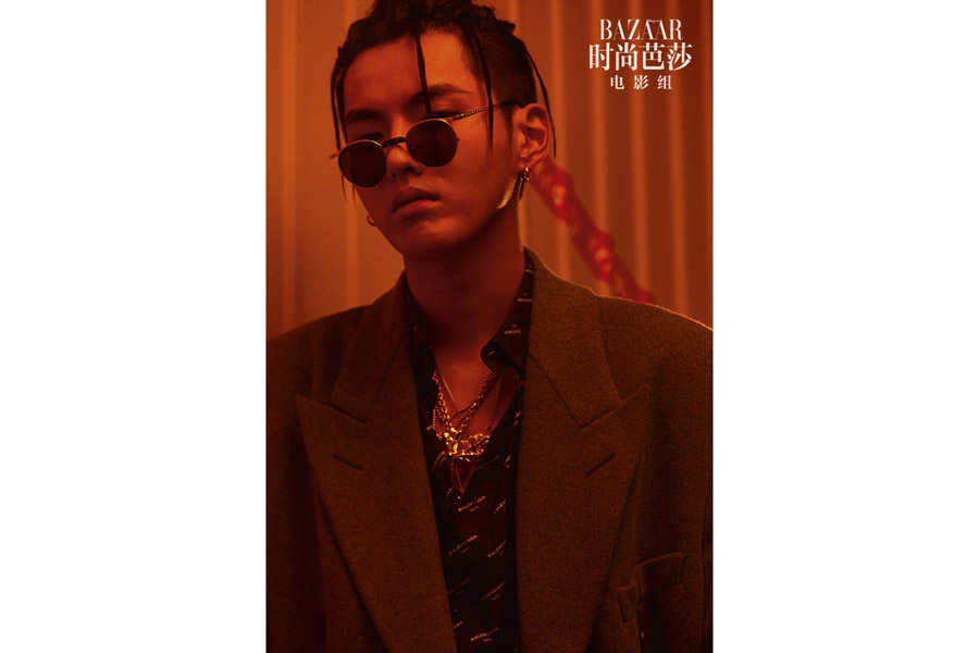 Fashion Icon Kris Wu Poses For The Fashion Magazine 6
