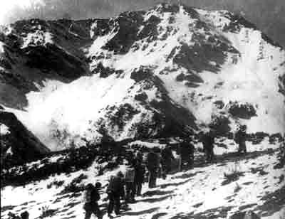 Jiajin Mountain, the first snow-covered mountain crossed by the Red Army.