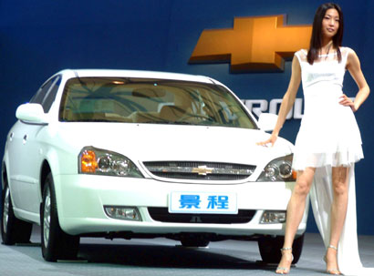 Gm leads in fast growing china auto market