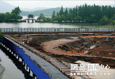 财经 张艺谋 印象西湖 被疑破坏西湖环境