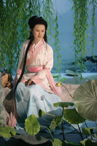 A statue of Xi Shi,