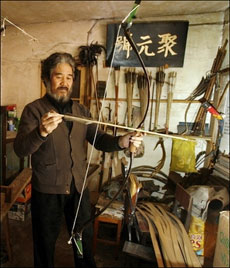 Bow maker struggles to keep craft alive