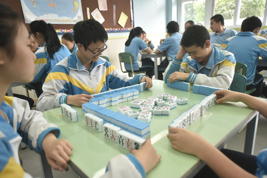 How mahjong can improve your chances with English[1]