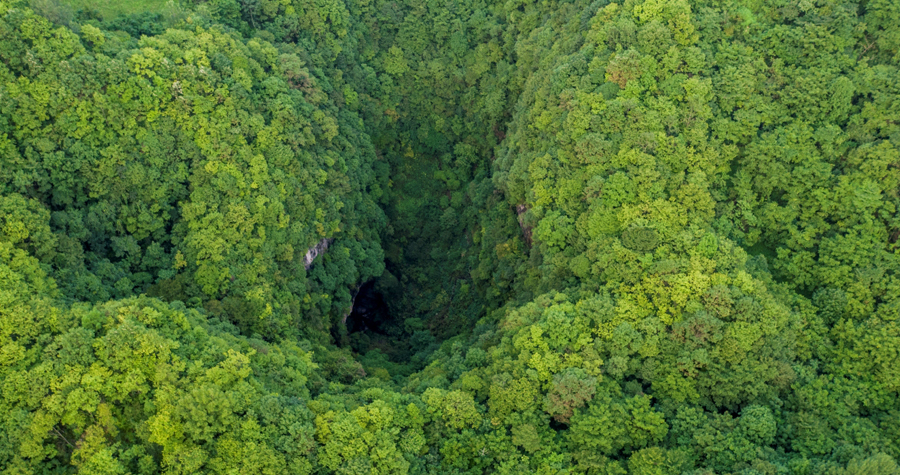 World's biggest cluster of sinkholes wows geologists[1]