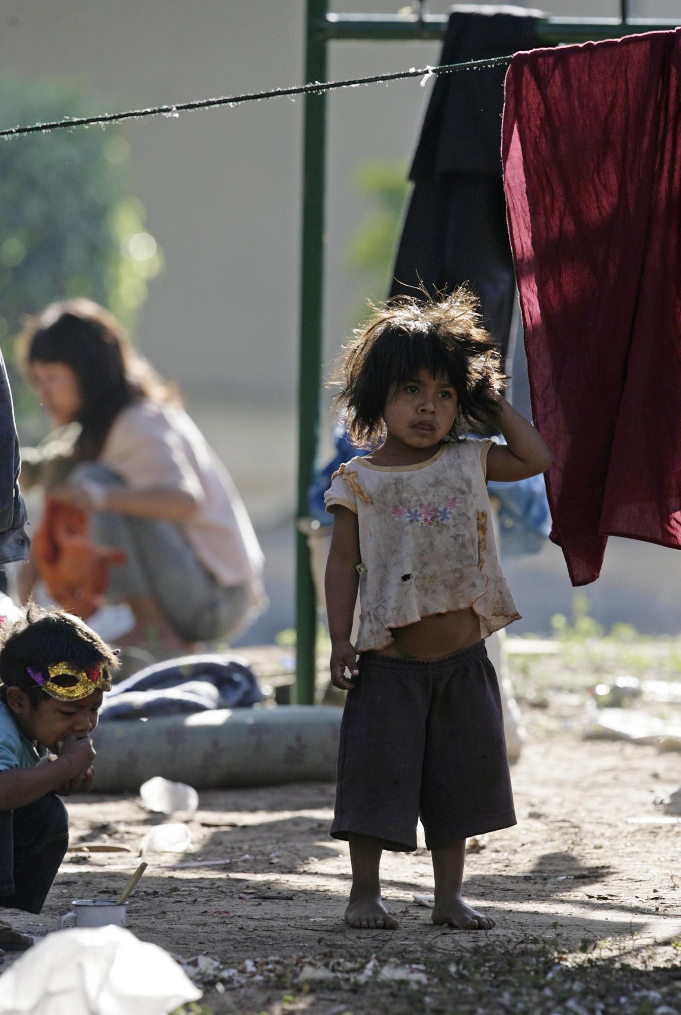 Фото голодных и бездомных детей