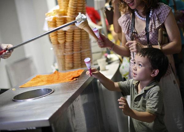 trick or treat? turkish ice cream