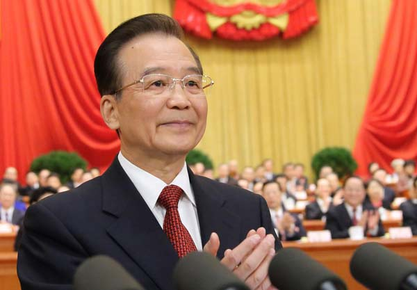 Link to China's Wen takes bow leaving a promising nation
