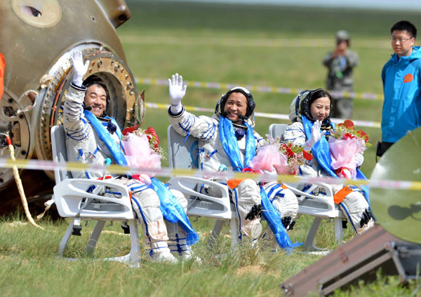 Shenzhou X spacecraft mission a success