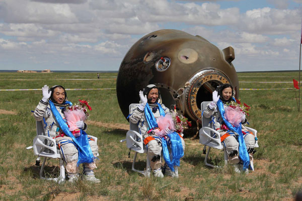 The success of Shenzhou X caused a boom in applying for aeronautical and astronautical programs in China