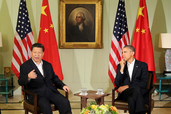 China, US committed to newly-defined ties