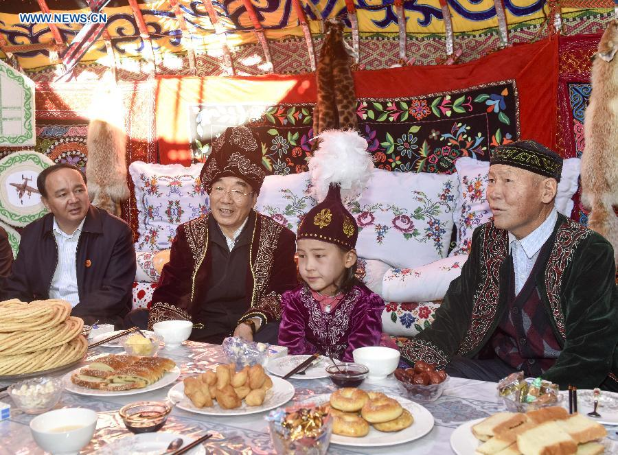 Changji China  City new picture : ... China's Xinjiang Uygur Autonomous Region, Sept 28, 2015. [Photo by