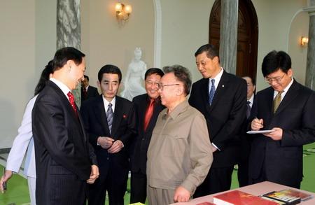 Kim Jong-il reúne-se com enviado do presidente da China
