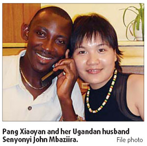 Happy couple breaks racial prejudices