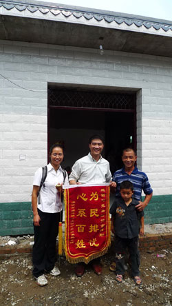 Microcredit program aids post-quake reconstruction in Sichuan