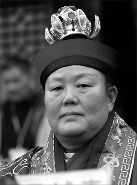 First woman leader of Taoist clerical orthodoxy   Taoism Women