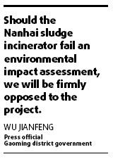 Officials feel heat over waste incinerator