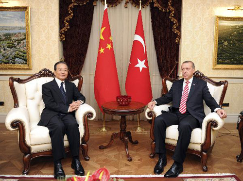 relationship between turkey and china
