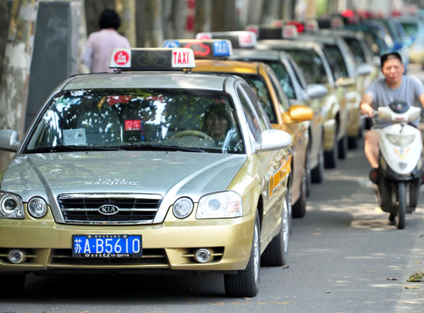 Nanjing taxis' recording equipment leads to stir |Society