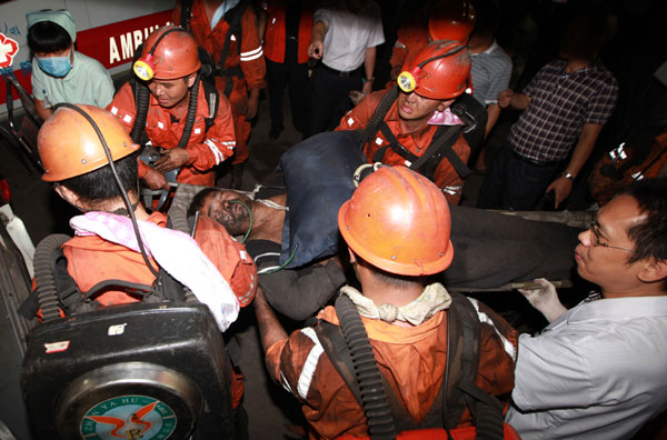 Link to 37 miners dead in Sichuan colliery blast