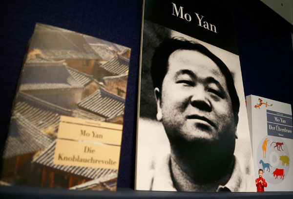 Chinese writer Mo Yan wins 2012 Nobel Prize in Literature