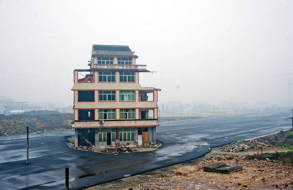 road house shows change in demolition dynamics china