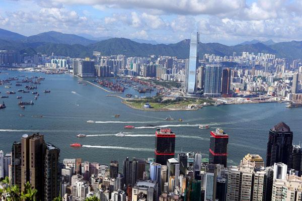 Hong Kong tops China City Competitiveness Ranking