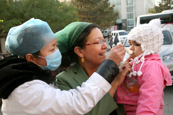 Link to Xinjiang remains polio-free