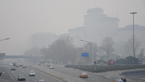 Beijing targets capital's suburban smog