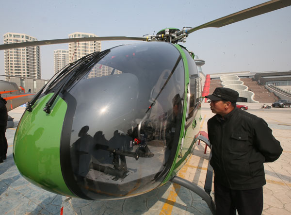 Private Helicopter For Sale >> Private Aircraft Stores Opening Across China China Chinadaily Com Cn