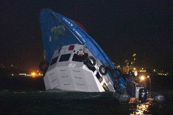 Hk Captains Charged In Fatal Ferry Crash