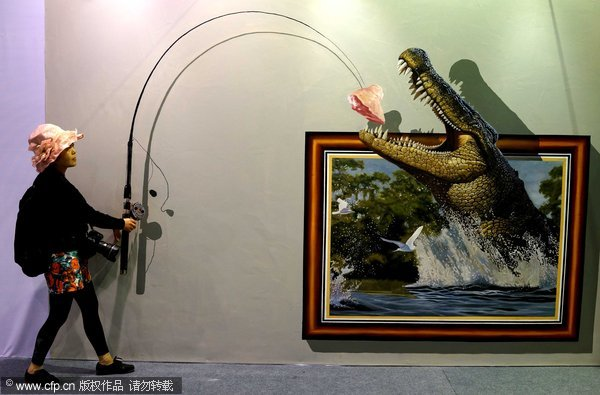 3D art captures the imagination in SW China[2]- Chinadaily ...