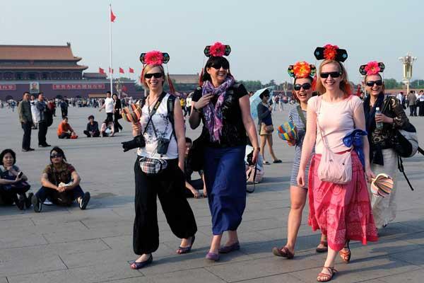 Beijing sees decline in tourists