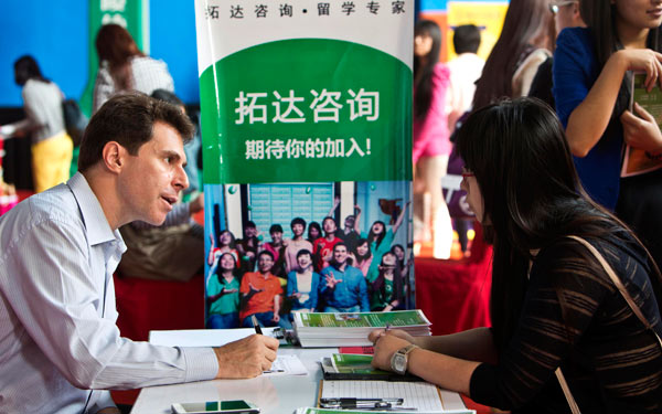 More Chinese students return to find work after studying abroad
